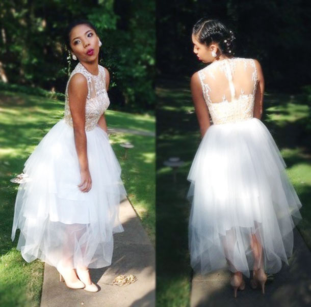 99bc7ecd174 Sweetheart White Prom Dresses